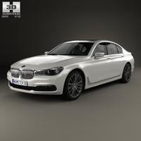 BMW 7 Series (G11) 2015 3D Model
