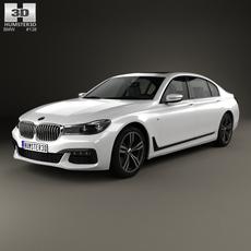 BMW 7 Series (G12) L M Sport Package 2015 3D Model