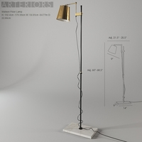 Arteriors Watson Floor Lamp 3D Model