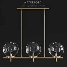 Arteriors Pembrook Pendant 3D Model