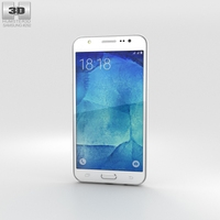 Samsung Galaxy J5 White 3D Model