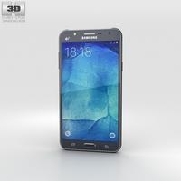 Samsung Galaxy J7 Black 3D Model