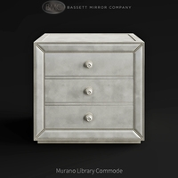 Bassett Mirror Company Murano Library Commode 3D Model
