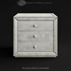 Bassett Mirror Company Murano Library Commode 3D Model