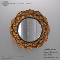 Bassett Mirror Company Niota wall mirror 3D Model