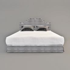Bed Versailes 3D Model
