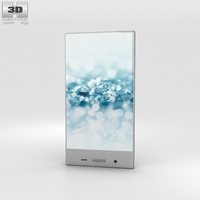 Sharp Aquos Crystal 2 Blue 3D Model
