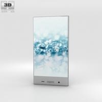 Sharp Aquos Crystal 2 Blue 3D Model