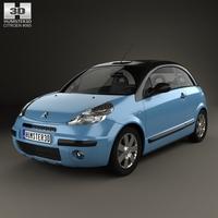 Citroen C3 Pluriel 2006 3D Model