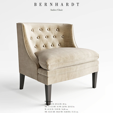 Bernhard Amber Chair 3D Model