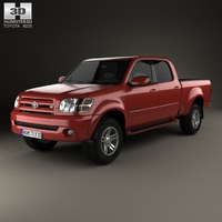 Toyota Tundra Double Cab 2003 3D Model