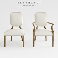 Bernhard Soho Luxe Arm Chair 3D Model