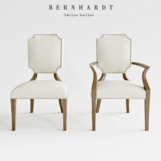 Bernhard Soho Luxe Arm Chair 3D Model
