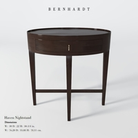 Bernhardt Haven Nightstand 3D Model