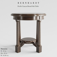 Bernhardt Round Side Table 3D Model