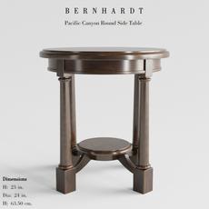 Bernhardt Round Side Table 3D Model
