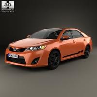 Toyota Camry (XV50) RZ SE 2014 3D Model