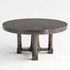 03 45 18 610 bernhardt sutton house round dining table top and bas 20001 4
