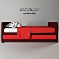 Bonaldo Centodue bed 3D Model