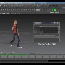 MeshCache for Maya 1.0.0 (maya plugin)