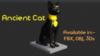 Ancient Cat 3D Model