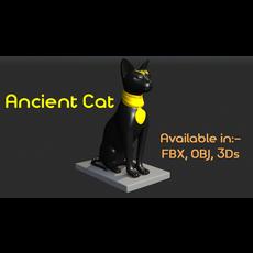 Ancient Cat 3D Model