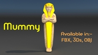 The Mummy 3D Model