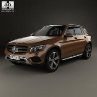 Mercedes-Benz GLC-Class (X205) 2015 3D Model