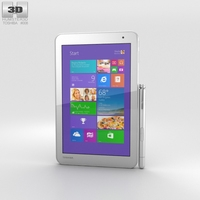 Toshiba Encore 2 8-inch Gold 3D Model