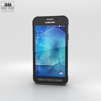 Samsung Galaxy Xcover 3 Gray 3D Model