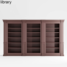 Built in library 3D Model