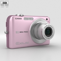 Casio Exilim EX- Z1050 Pink 3D Model