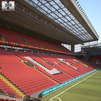 Anfield 3D Model