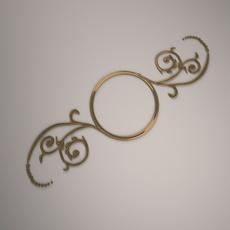 Ornamental Design 02 3D Model
