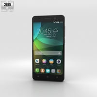 Huawei Honor 4C Black 3D Model