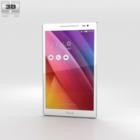 Asus ZenPad 8.0 (Z380C) White 3D Model