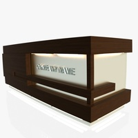 Reception Desk 1 3D Model