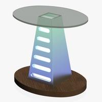 Free Lectern 1 3D Model