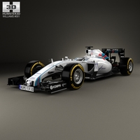 Williams FW37 2015 3D Model