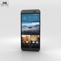 HTC One ME Meteor Grey 3D Model