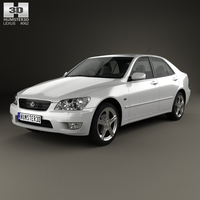 Lexus IS (XE10) 2001 3D Model