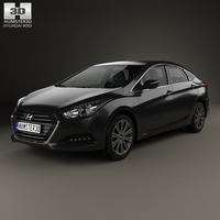 Hyundai i40 sedan 2015 3D Model