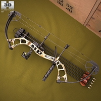 Bear Archery Cruzer Bow 3D Model