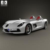 Mercedes-Benz SLR McLaren Stirling Moss 2009 3D Model