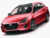 Hyundai i30 Tourer 2018 3D Model