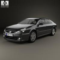 Peugeot 607 2004 3D Model