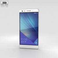Huawei Honor 7 White 3D Model