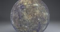 Mercury 4k Globe 3D Model