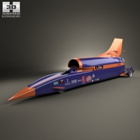 Bloodhound SSC 2015 3D Model