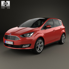 Ford C-Max 2015 3D Model
